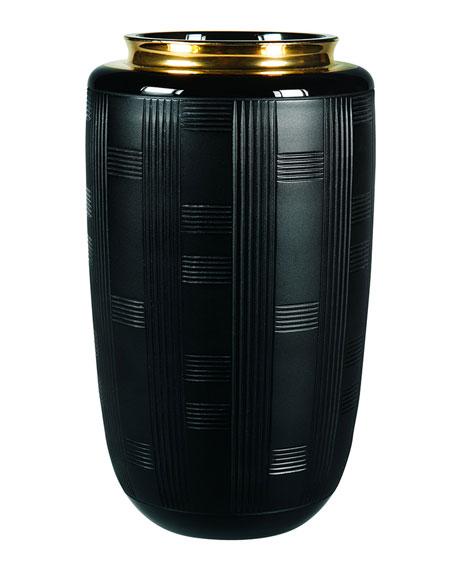 Vista Alegre Jet Black Small Vase