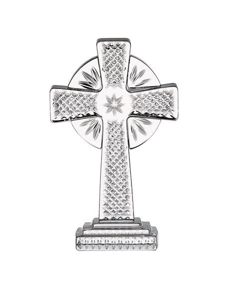 """Waterford Crystal Standing Cross Decor, 5"""""""
