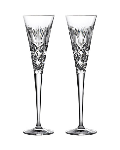 Times Square 2020 Champagne Flute Pair
