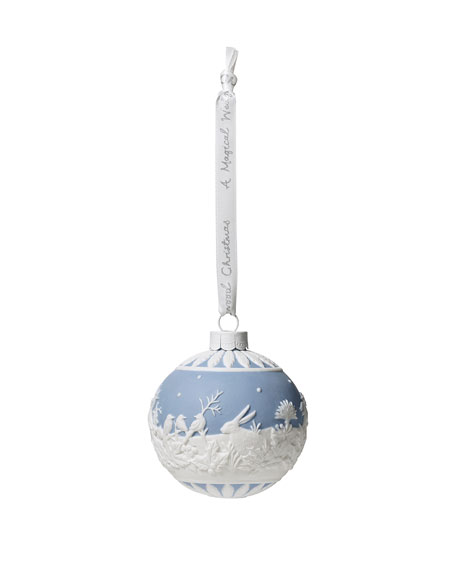 Wedgwood Winter Walk Christmas Ornament
