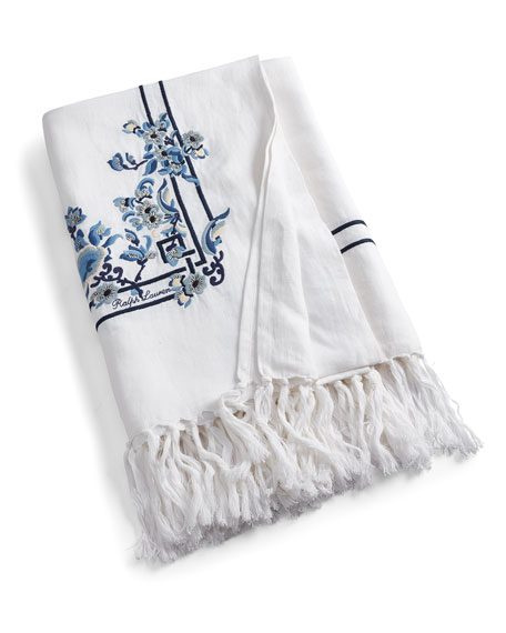 """Ralph Lauren Home Kamryn Throw Blanket, 54"""" x 72"""""""