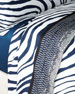 Roberto Cavalli Frame Zebrage Queen Flat Sheet