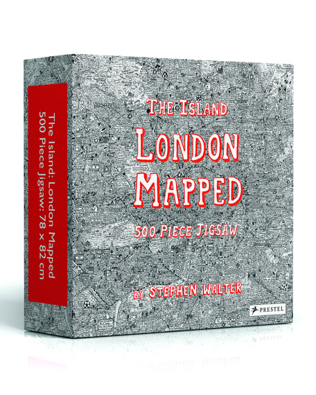 Penguin Random House The Island London Mapped Jigsaw Puzzle