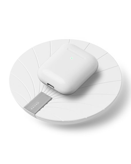 Lexon Design Bali Wireless Power Bank with Wireless Charging