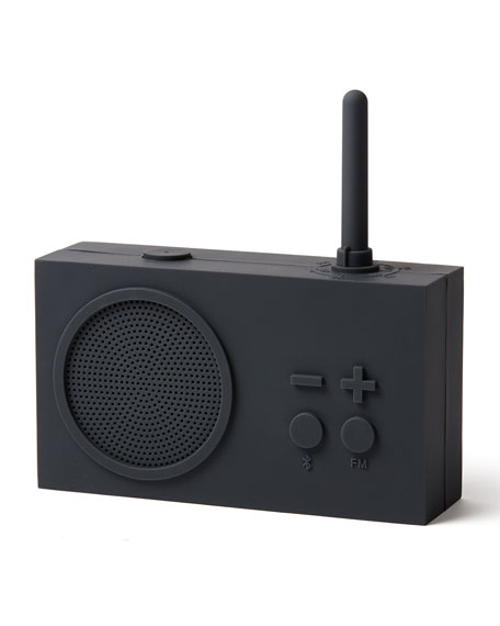 Lexon Design Radio with Mini LED Lamp