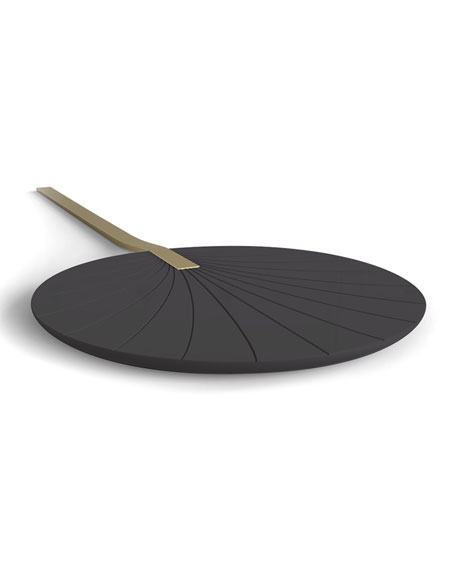 Lexon Design Bali Extra-Slim Wireless Charger with Built-In USB Cord