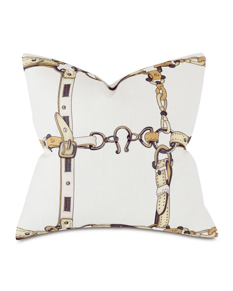 Eastern Accents Lannister Horseshoe Decorative Pillow