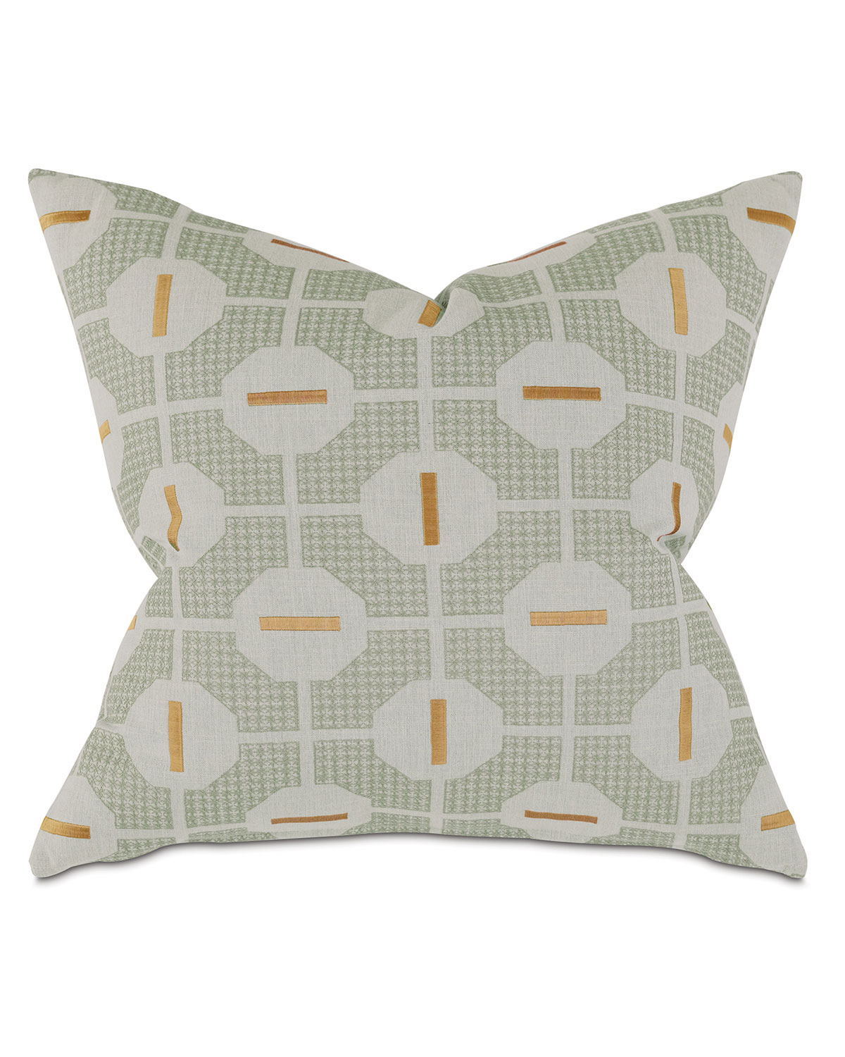 Eastern Accents Octave Mustard Decorative Pillow