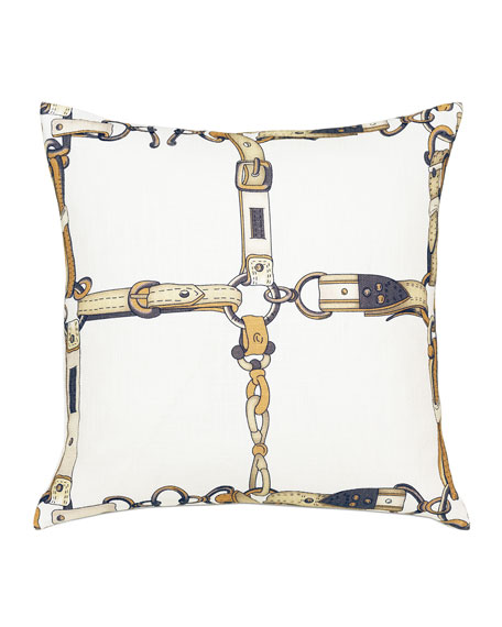 Eastern Accents Lannister Buckle Decorative Pillow