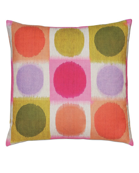 Eastern Accents Flossie Rainbow Decorative Pillow