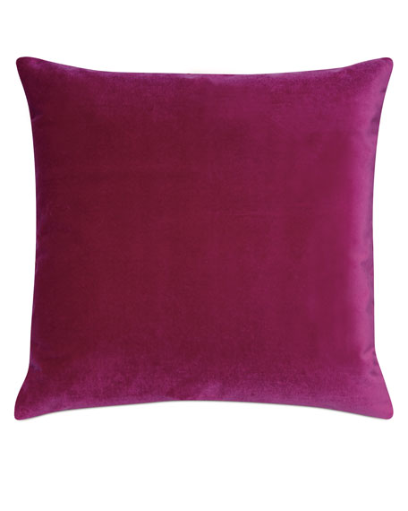 Eastern Accents Plush Raspberry Decorative Pillow