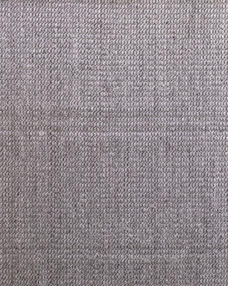 Lili Alessandra Marco Dark Gray Rug, 10' x 14'