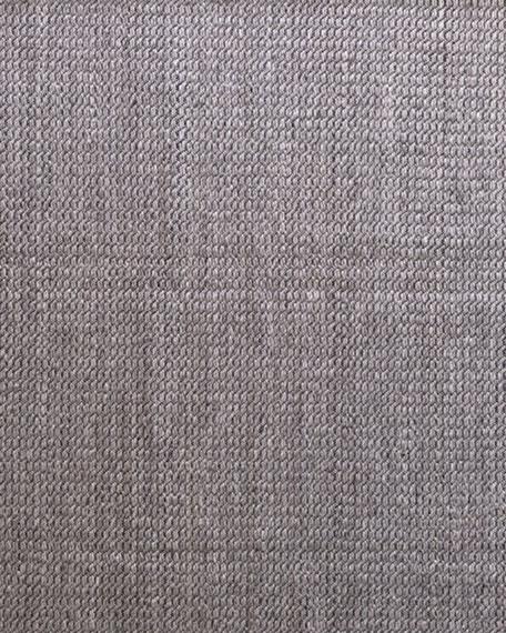 Lili Alessandra Marco Dark Grey Rug, 8' x 10'