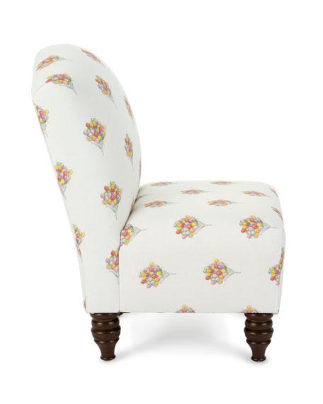 Cloth & Company x Gray Malin Balloon Bouquet Camel Back Kid's Chair