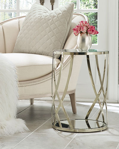 Adela Round Side Table