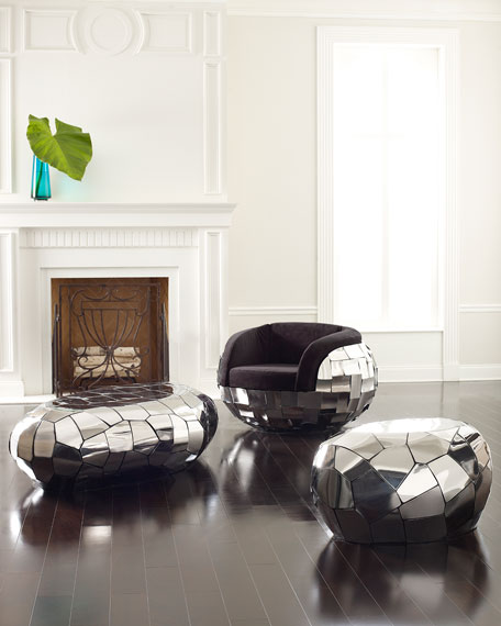 The Phillips Collection Crazy Cut Club Chair