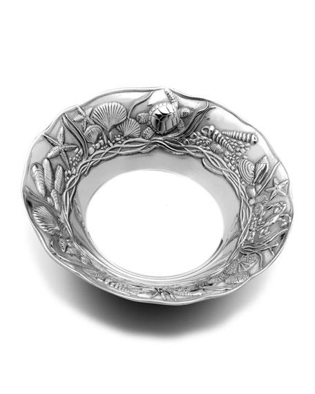 Wilton Armetale Coastal Medium Bowl
