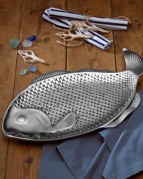 Wilton Armetale Sea Life Large Fish Tray