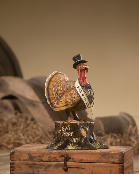 Bethany Lowe Bird of the Day Thanksgiving Decoration