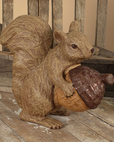 Bethany Lowe Fall Squirrel