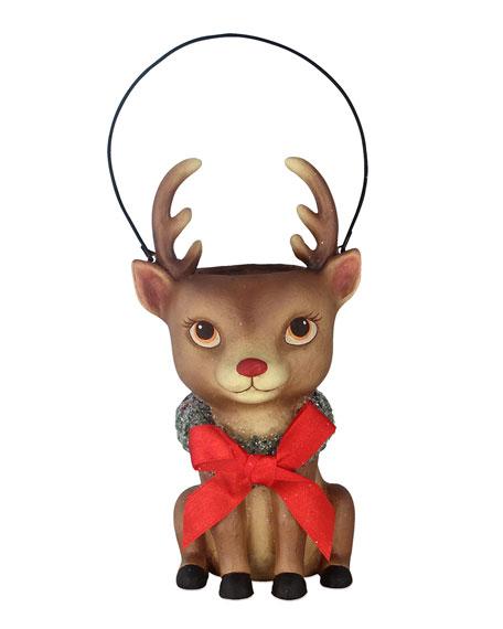 Bethany Lowe Reindeer Bucket Head