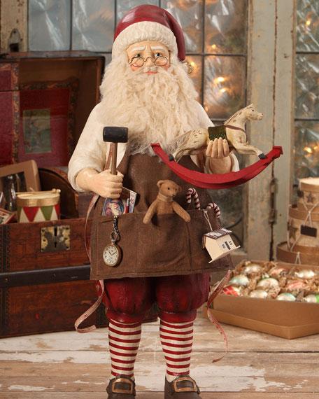 Bethany Lowe Workshop Santa