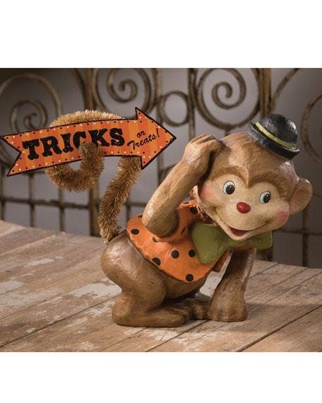 Bethany Lowe Monkey Boo Halloween Decor