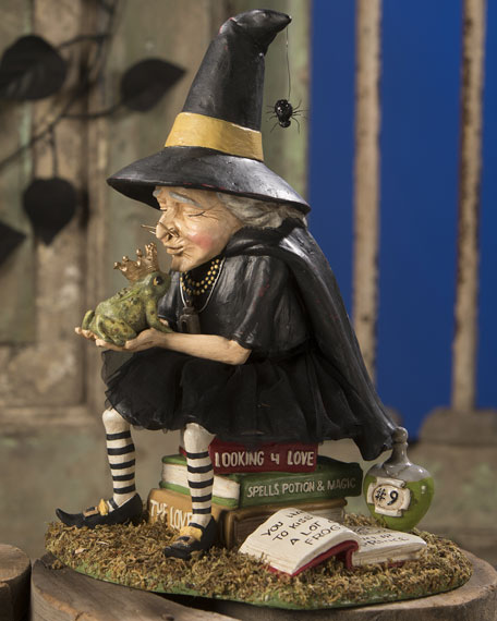 Bethany Lowe How To Find A Prince Witch Halloween Figurine