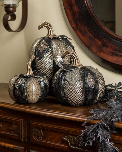 Kingdom Pumpkins  Set of 3