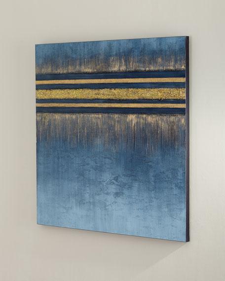 'Gold Drops' Wall Art