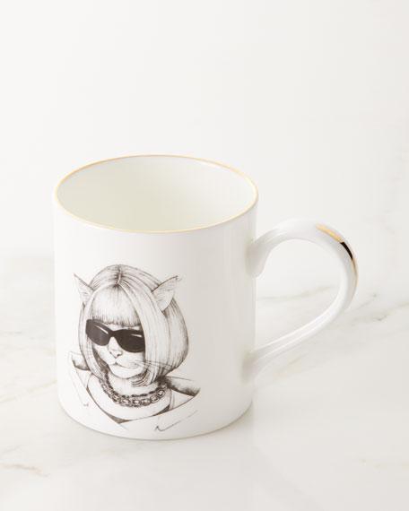 Rory Dobner Fashion Icon Cat Majestic Mug