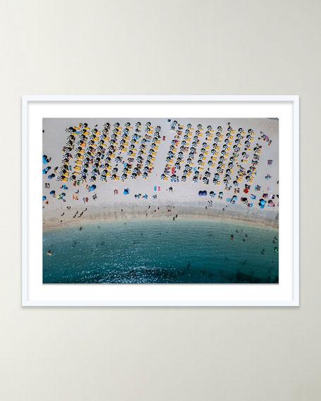 """Four Hands Art Studio """"Aerial Beach II"""" Giclee Art by Michael Schauer"""