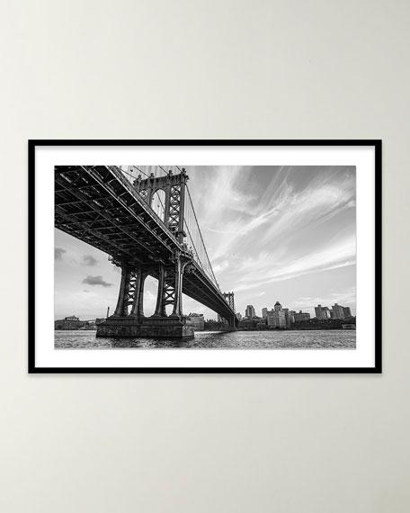 "Four Hands Art Studio ""Manhattan Bridge"" Giclee Art by Alex Iby"