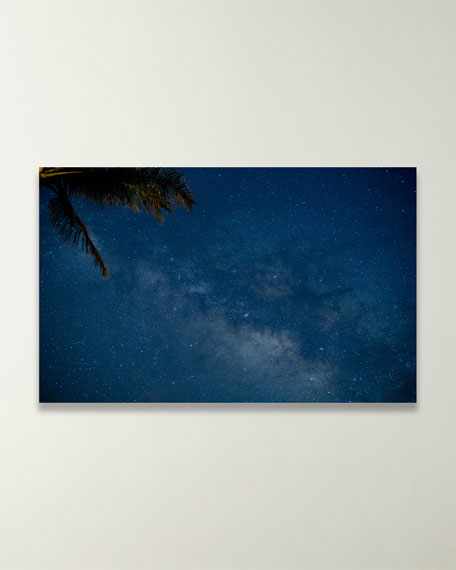 """Four Hands Art Studio """"Unexpected Milky Way in Hawaii"""" Photo by Brannon Naito"""