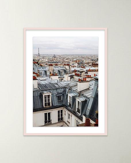 """Four Hands Art Studio """"Paris Cityscape"""" Giclee Art by Oliver Cole"""