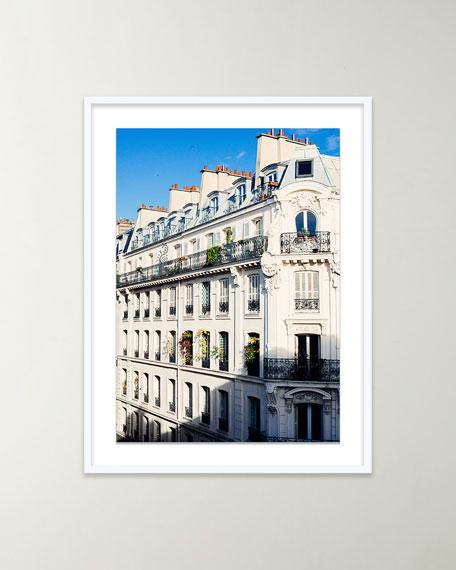 """Four Hands Art Studio """"Paris Buildings"""" Giclee Art by Oliver Cole"""