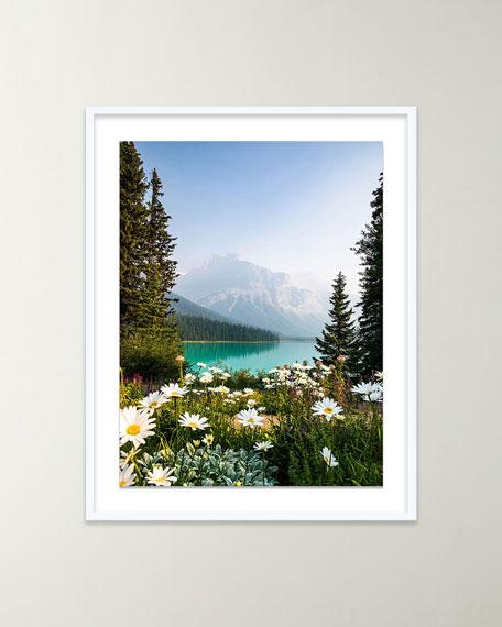 "Four Hands Art Studio ""Flower Mountain"" Giclee Art by Alex Iby"