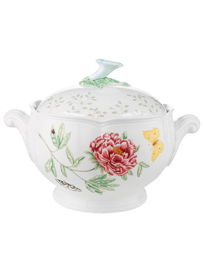 Butterfly Meadow Covered Casserole Dish