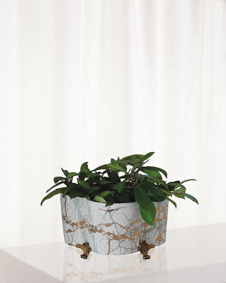 Port 68 Giovanni Quatrefoil Planter