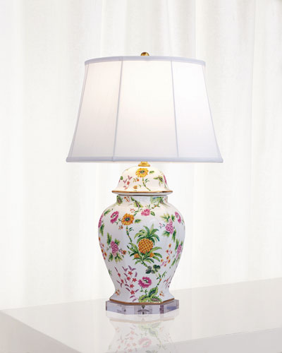 Portsmouth Pineapple Hex Lamp