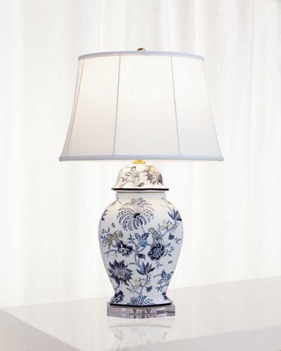 Branganza Blue Hex Lamp