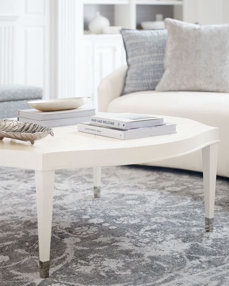 Image 1 of 5: Bernhardt Calista Round Coffee Table