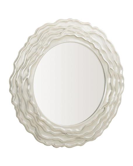 Bernhardt Calista Silken Luster Round Mirror