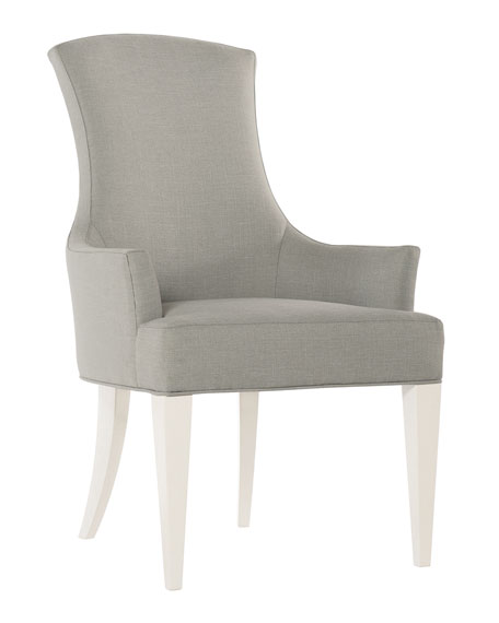 Bernhardt Calista Upholstered Arm Chairs, Set of 2