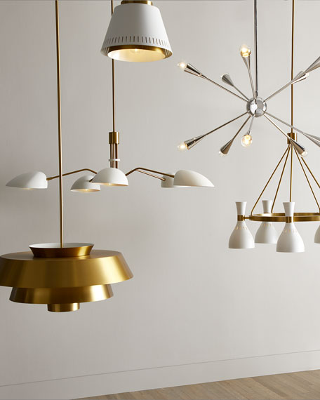 ED Ellen DeGeneres Jax 10-Light Chandelier