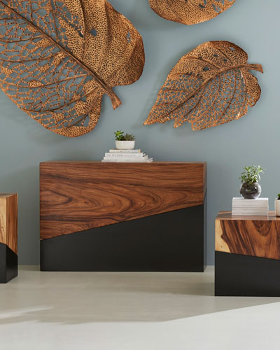 Geometry Console Table