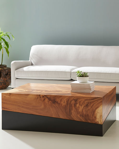 The Phillips Collection Geometry Coffee Table