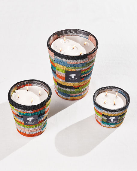 Baobab Collection Max 10 Modernista Raffia Mialy Candle