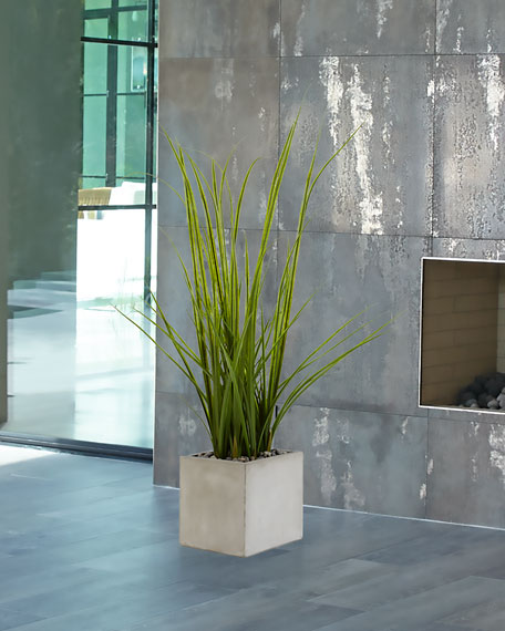 NDI Green Grass in Concrete Cube - 46""