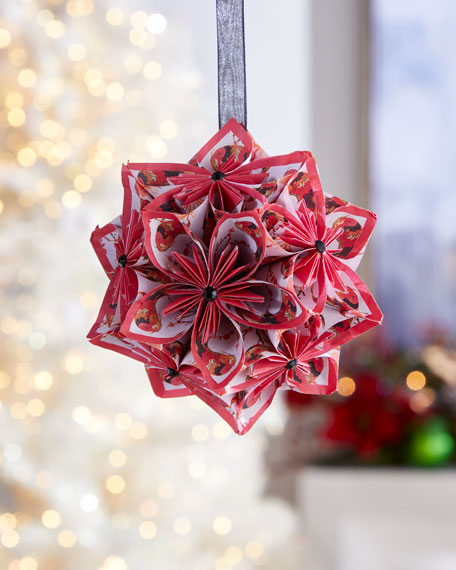 Paper for Water Flower Ball Ornament